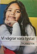 Talknuten broschyr framsida 127x187