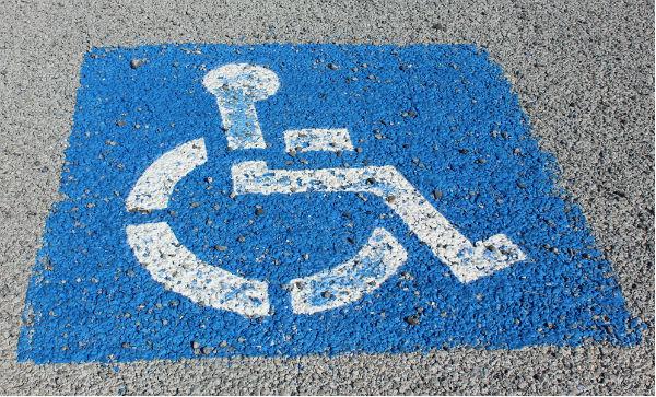Handikappparkering 600x363