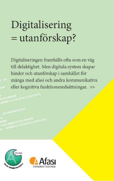 Digitalisering =utanförskap?