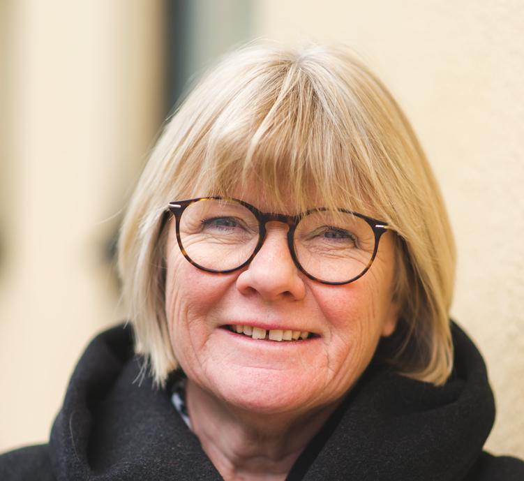 Bild på Elisabeth Wallenius, ordförande i Funktionsrätt Sverige