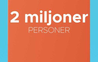 Skylt 2 miljoner personer, respektförrättigheter.se